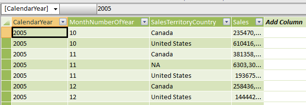 Creating a measure in PowerPivot that excludes values that are in a