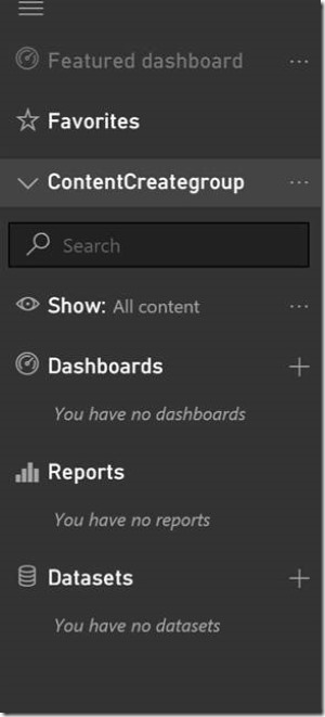 clip image004 thumb Using groups in Power BI to publish content to production on your schedule.