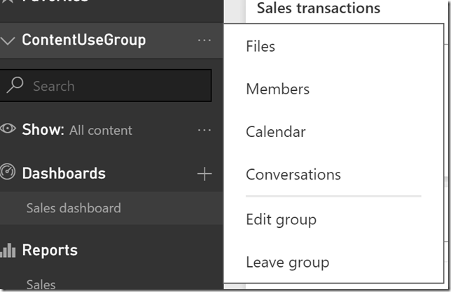 clip image020 thumb Using groups in Power BI to publish content to production on your schedule.