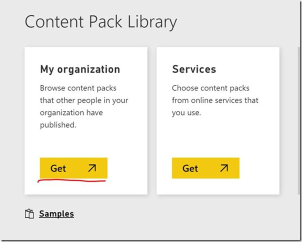 clip image026 thumb Using groups in Power BI to publish content to production on your schedule.