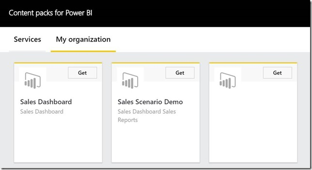 clip image028 thumb Using groups in Power BI to publish content to production on your schedule.