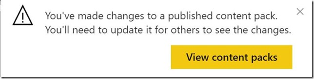 clip image034 thumb Using groups in Power BI to publish content to production on your schedule.