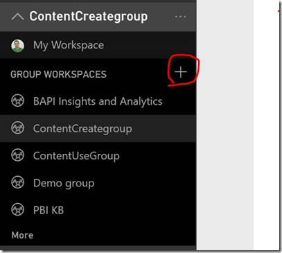 clip image002 thumb Using groups in Power BI to publish content to production on your schedule.