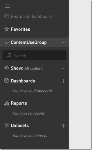 clip image019 thumb Using groups in Power BI to publish content to production on your schedule.