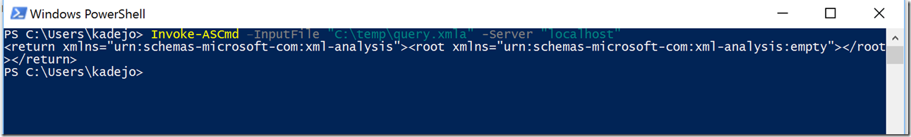 image thumb 21 Use Task Scheduler and PowerShell to process your SSAS database