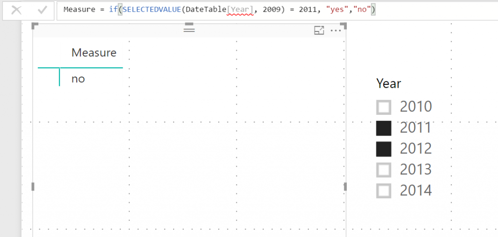 DAX SelectedValue function - Kasper On BI