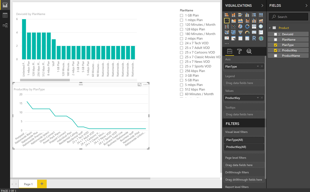 Change your Power BI report to point to an external SSAS